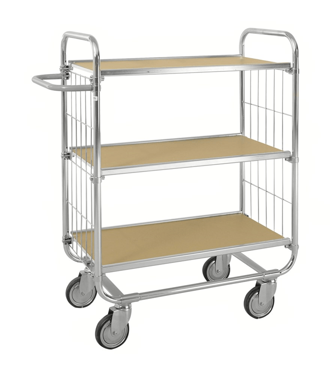 KM8000 3 shelf trolley Kongamek