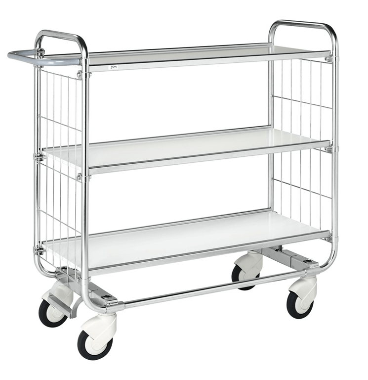 Kongamek 8000 3 shelf trolley