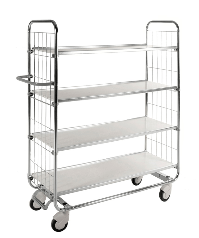 Kongamek 8000 4 shelf trolley