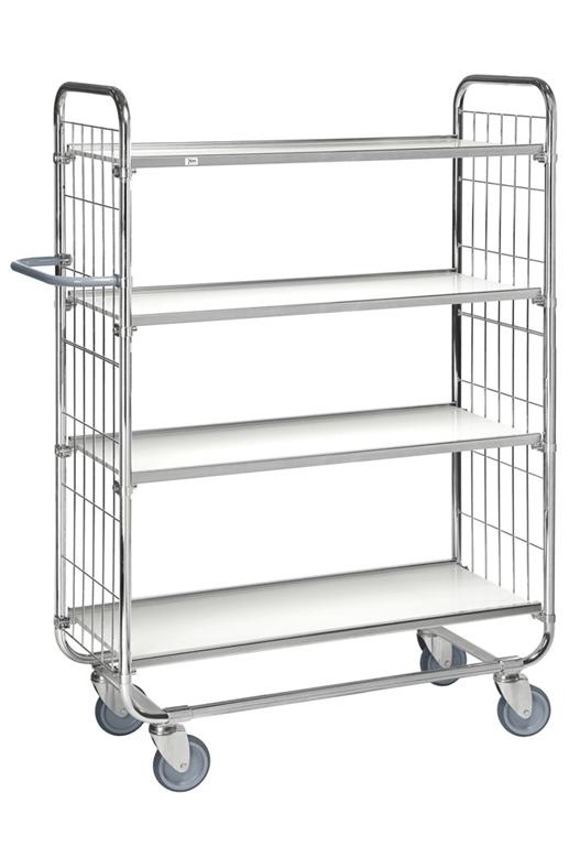 Steplift KM8000 4 shelf trolley