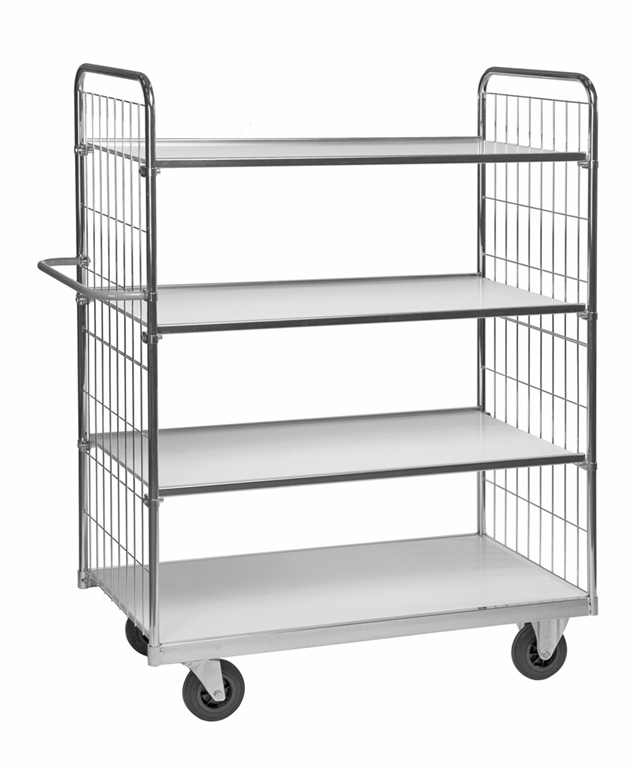 Steplift 4 shelved trolley