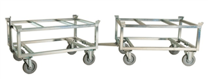 Steplift pallet trolley